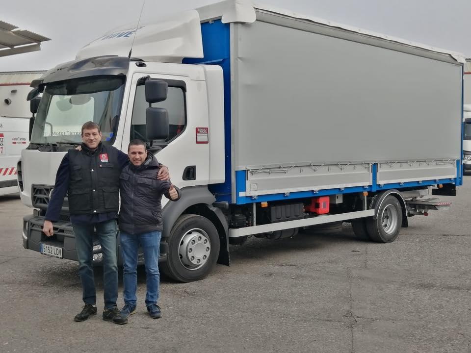 Nueva Entrega de vehículo a la empresa Joan Bove