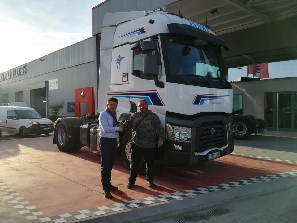 Nueva Entrega de vehículo a la empresa Miguel Ángel Mendiluce