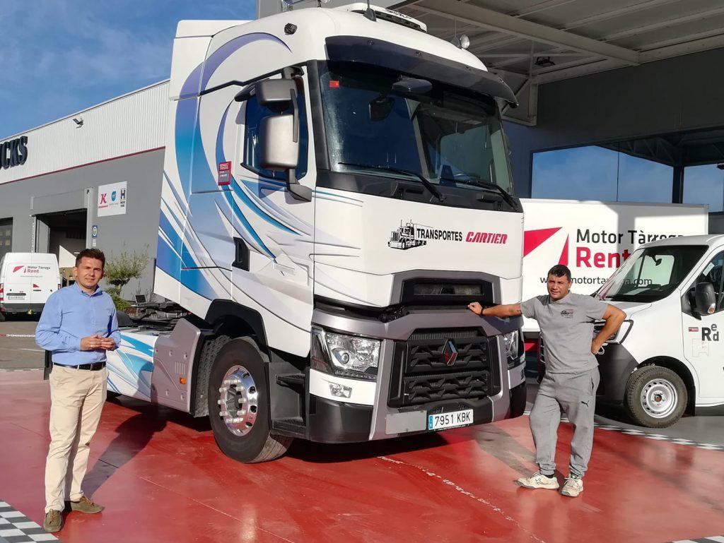 Transportes Cartier sigue confiando en Renault Trucks y en Motor Tàrrega