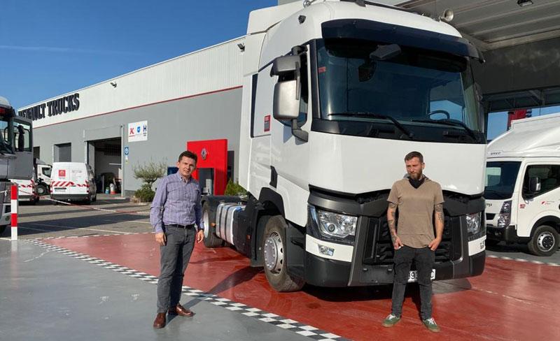 Entregamos este magnífico Renault Truck T 520 de ocasión a Logística Mapetrans
