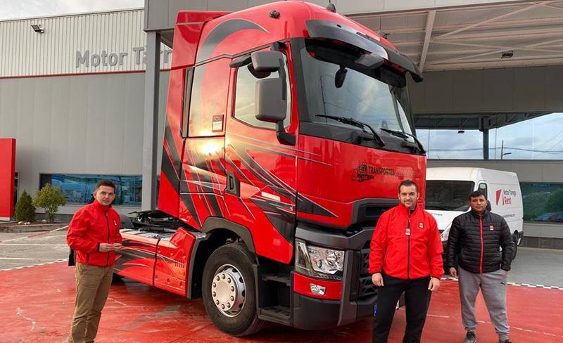 Hoy entregamos este espectacular Renault Trucks T520 Highcab a Transportes Cartier Moulin