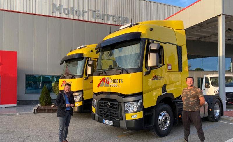 Giribets 2000 SL amplía su flota con 3 Renault Trucks T 460