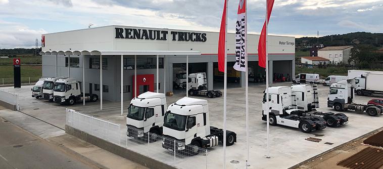 Motor Tàrrega - Renault Trucks en Girona
