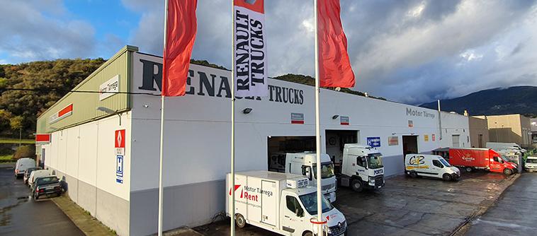 Motor Tàrrega - Renault Trucks en La Seu D'urgell